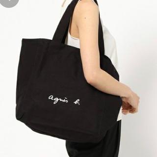 agnes b. - 【新品】アニエスベー agnes b.トートバッグ ブラック Lサイズ