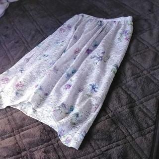 tocco - tocco closet  花柄レーススカート