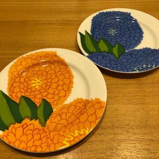 marimekko - マリメッコ 平皿2枚セット