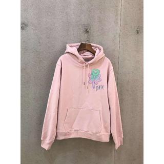 ディオール(Dior)の【新作】DIOR ★ ピンク コットン フード付き スウェット シャツ(パーカー)
