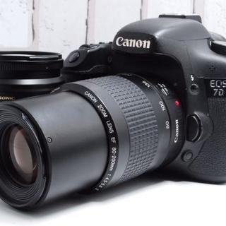 Canon - ★超人気★Canon 7D ダブルレンズ キャノン