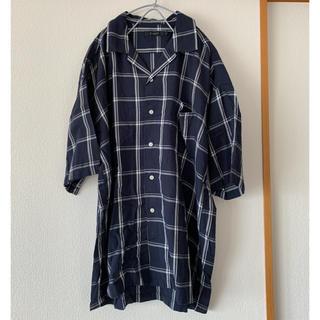 RAGEBLUE - RAGEBLUEチェックオープンカラーシャツ