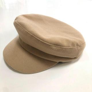 eimy istoire - ベージュ キャスケット マリンキャップ 帽子