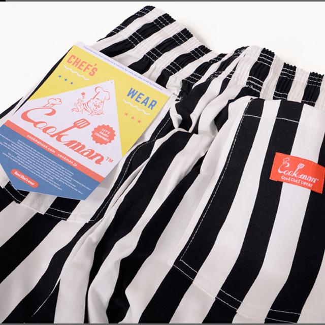 SHIPS(シップス)のクックマン ワイドストライプ イージーパンツ メンズのパンツ(ワークパンツ/カーゴパンツ)の商品写真