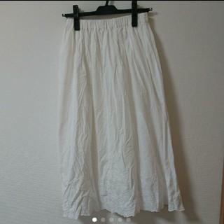 HONEYS - HONEYS レース 刺繍 ロングスカート