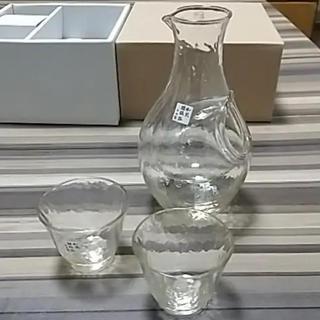 トウヨウササキガラス(東洋佐々木ガラス)の東洋佐々木ガラス 冷酒セット(琥珀)(グラス/カップ)