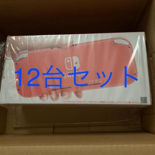 ニンテンドースイッチ(Nintendo Switch)の12台 ニンテンドースイッチライト Nintendo Switch Lite(家庭用ゲーム機本体)