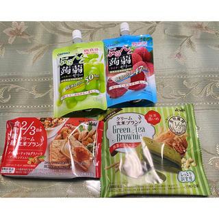 アサヒ - ぷるんと蒟蒻ゼリーとクリーム玄米ブラン 各種
