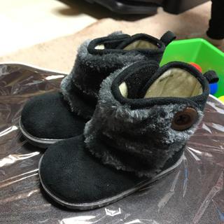 子供靴 キッズシューズ ムートンブーツ 男女兼用 14cm(ブーツ)