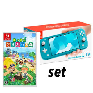 Nintendo Switch - 新品 Nintendo Switch Light あつまれどうぶつの森 set