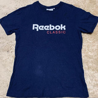 Reebok - リーボック Reebok  ネイビー Tシャツ