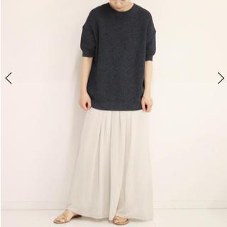 Plage - 今期新品タグ付プラージュplage  Crepe ギャザーストレートスカート