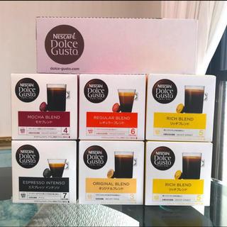Nestle - 新品未開封 ネスレ ドルチェグスト カプセル コーヒー リッチブレンド 6箱