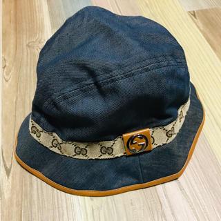 Gucci - GUCCI グッチ 帽子 ハット Sサイズ