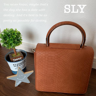SLY - 【新品】SLYノベルティ ショルダーバッグ