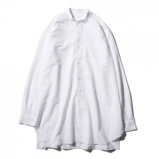 COMOLI - 16ss comoli バンドカラーシャツ ホワイト サイズ1