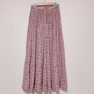 しまむら - ♡プチプラのあや♡ 小花柄シフォンプリーツスカート ♡