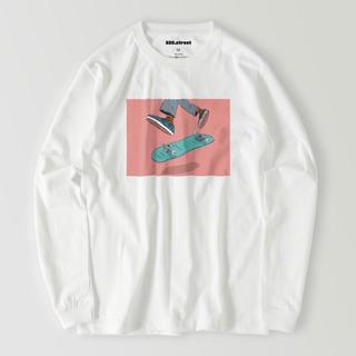 スケートボード ロングスリーブtシャツ