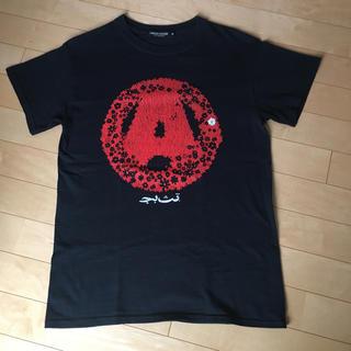 アンダーカバー(UNDERCOVER)の希少アンダーカバーscabサークルAアナーキー植物Tシャツ初期復刻袖レザーダウン(Tシャツ/カットソー(半袖/袖なし))