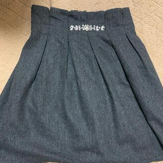 マジェスティックレゴン(MAJESTIC LEGON)のMAJESTIC LEGON ビジュ付 ミニスカート(ミニスカート)