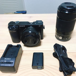 SONY - Sony α6000 ILCE-6000Y ダブルズームレンズキット