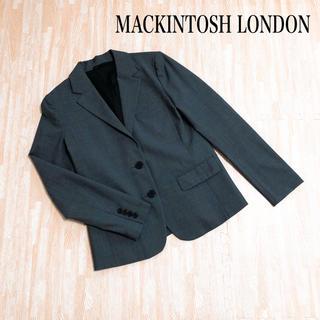 マッキントッシュ(MACKINTOSH)のMACKINTOSH LONDON マッキントッシュ ジャケット グレー お仕事(テーラードジャケット)