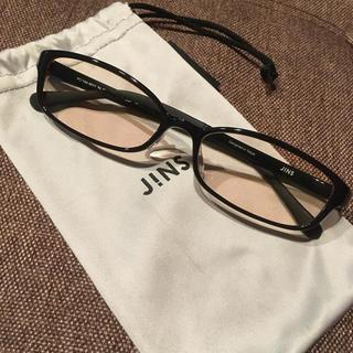 ジンズ(JINS)のブルーライトカット眼鏡(サングラス/メガネ)
