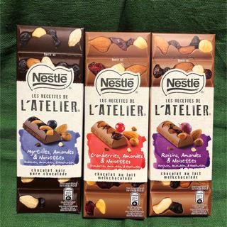 Nestle - 即購入OK   ネスレ  ラトリエ 3種類 チョコレート