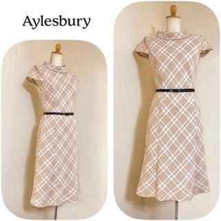 Aylesbury - アリスバーリー ◆ クラシカルツイードワンピース ◆