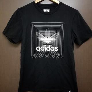 adidas - ○美品 adidas  Tシャツ 黒 メンズ  S 古着