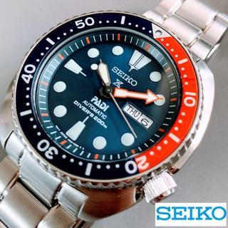 セイコー(SEIKO)の【極美品】海外SEIKO PROSPEX +PADI ダイバーズ(腕時計(アナログ))