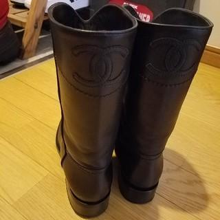 CHANEL - 正規品🖤CHANELブラックブーツ🖤靴36🖤シャネル