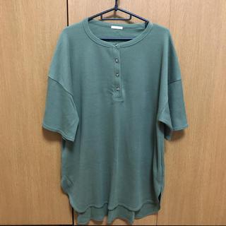 GU - 新品未使用 GU ジーユー Tシャツ ワンピース