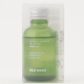 MUJI (無印良品) - 無印良品MUJI エッセンシャルオイル・ローズマリー 30ml アロマオイル