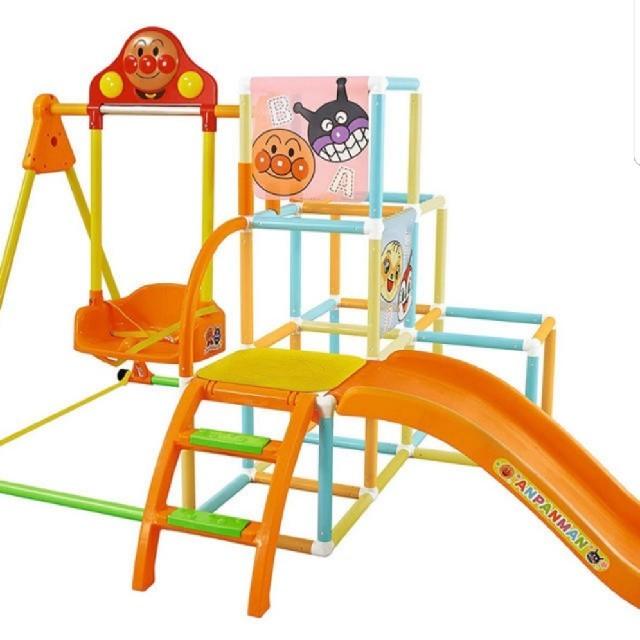 アンパンマン(アンパンマン)のアンパンマンジャングルジム キッズ/ベビー/マタニティのおもちゃ(ベビージム)の商品写真