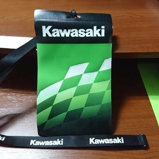 カワサキ(カワサキ)のカワサキ チケットホルダー 非売品(オマケつき)(その他)