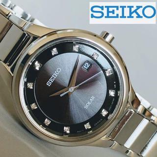 セイコー(SEIKO)の【新品】上品な装いを手元に★SEIKO ダイヤ12石★セイコー 50m防水 女性(腕時計)