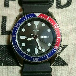 セイコー(SEIKO)のSEIKO ダイバー クォーツ腕時計 シチズン オリエント好きな方へ(腕時計(アナログ))
