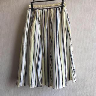 tocco - 新品タグ付き イエローチュールスカート プリーツスカート Mサイズ