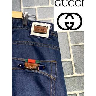 Gucci - GUCCI グッチ デニム パンツ ジーパン