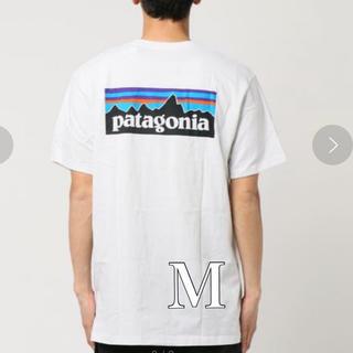 patagonia - 新品 ☆最安値! M パタゴニア P6 ロゴ バックプリントTシャツ ホワイト