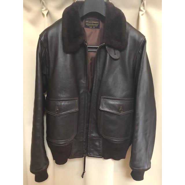 Buzz Rickson's(バズリクソンズ)のバズリクソンズ G-1フライトジャケット メンズのジャケット/アウター(レザージャケット)の商品写真