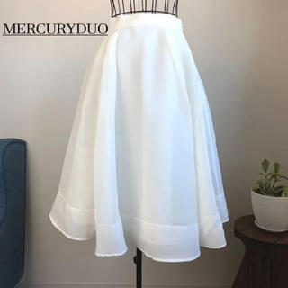 MERCURYDUO - 【美品】マーキュリーデュオ フレアスカート