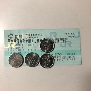 18きっぷ(鉄道乗車券)