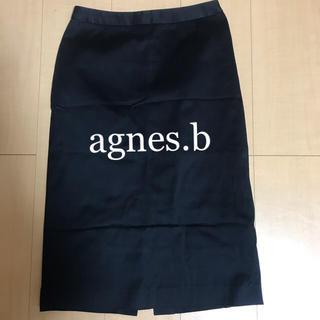 アニエスベー(agnes b.)のagnes.b アニエスベー  タイトスカート(ひざ丈スカート)