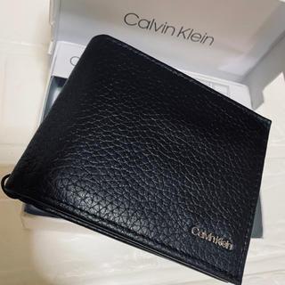 カルバンクライン(Calvin Klein)の【ラスト1点★海外限定】カルバンクライン 二つ折り財布(折り財布)