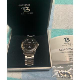 セイコー(SEIKO)のSEIKO BRIGHTZ オートリレー 電池新品(腕時計(アナログ))