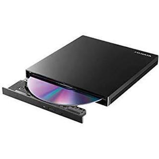 IODATA - アイオーデータ EX-DVD04K ポータブルDVDドライブ ピアノブラック