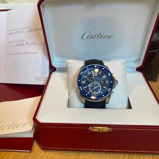 Cartier - カルティエ CARTIER カリブルドゥカルティエダイバーWSCA0010メンズ