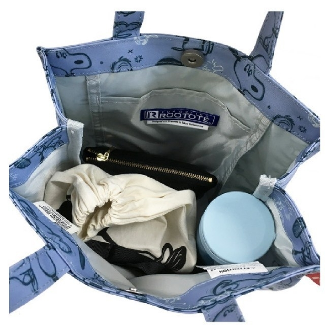 ROOTOTE(ルートート)のルートート スヌーピー ラミネート加工 レディースのバッグ(トートバッグ)の商品写真